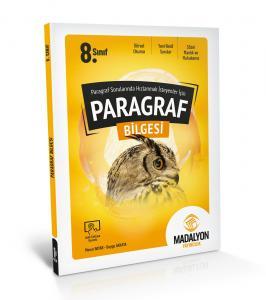 Paragraf Sorularında Hızlanmak İsteyenler İçin 8. Sınıf Paragraf Bilgesi Madalyon Yayınları