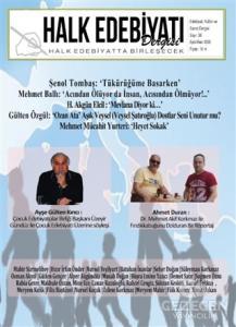 Halk Edebiyatı Dergisi Sayı :38 / Eylül - Ekim 2020