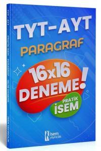 İsem 2021 TYT AYT Pratik İsem Kazandıran Paragraf 16x16 Deneme