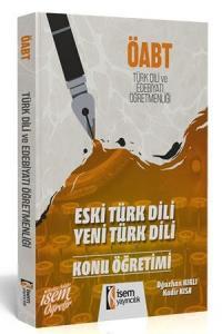 İsem  ÖABT Eski Türk Dili Yeni Türk Dili Edebiyatı Konu Öğretimi İsem Yayıncılık