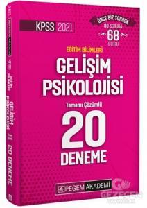 KPSS 2021 Eğitim Bilimleri Gelişim Psikolojisi Tamamı Çözümlü 20 Deneme