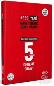 KPSS Genel Yetenek Genel Kültür Tamamı Çözümlü 5 Deneme Sınavı 2021