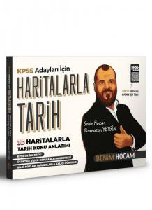 KPSS Haritalarla Tarih Konu Anlatımı   Benim Hocam Yayınları