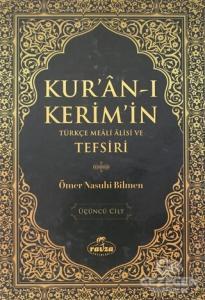 Kur'an-ı Kerim'in Türkçe Meali Alisi ve Tefsiri 3.Cilt