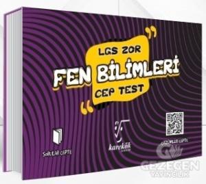 LGS Cep Test Fen Bilimleri (Zor)