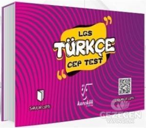 Karekök LGS Türkçe Cep Test Karekök Yayınları