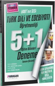 Paragon 2021 ÖABT Türk Dili ve Edebiyatı Öğretmenliği 5+1 Deneme Paragon Yayıncılık