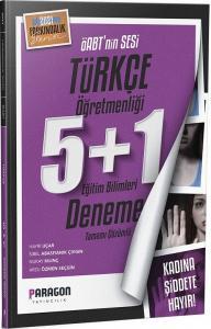 Paragon 2021 ÖABT Türkçe Öğretmenliği 5+1 Deneme Paragon Yayıncılık