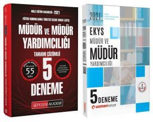Pegem + Uzman Kariyer 2021 MEB EKYS Müdür ve Yardımcılığı 5+5 Deneme Pegem + Uzman Kariyer Yayınları *