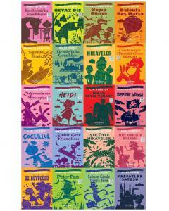 İş Bankası Çocuk Klasikleri  En Çok Okunan 20 Kitap 2368 Sayfa