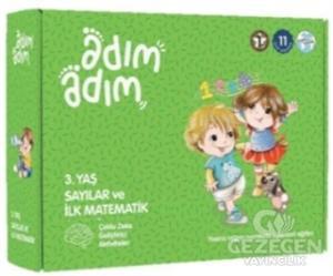Sayılar ve İlk Matematik - Adım Adım Eğitim Seti (3 Yaş)