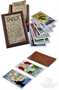 Tarot 78 Kart ve Kitap (Ahşap Kutulu)