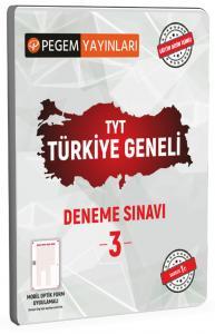 TYT Türkiye Geneli Deneme Sınavı 3 |Pegem Akademi Yayıncılık