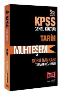 Yargı 2021 KPSS Tarih Muhteşem Soru Bankası Çözümlü Yargı Yayınları
