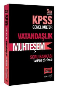 Yargı 2021 KPSS Vatandaşlık Muhteşem Soru Bankası Çözümlü Yargı Yayınları