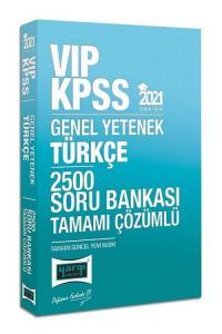 Yargı 2021 KPSS VIP Türkçe 2500 Soru Bankası Çözümlü Yargı Yayınları