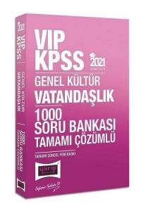 Yargı 2021 KPSS VIP Vatandaşlık 1000 Soru Bankası Çözümlü Yargı Yayınları