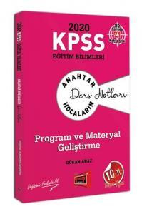 2020 KPSS Program Geliştirme Anahtar Hocaların Ders Notları Gökan Araz | Yargı Yayınları