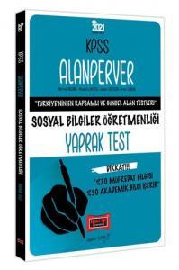 Yargı Yayınları 2021 KPSS ÖABT Alanperver Sosyal Bilgiler Öğretmenliği Yaprak Test