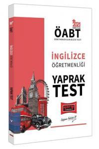 Yargı Yayınları 2021 ÖABT İngilizce Öğretmenliği Yaprak Test