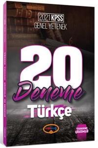 Yediiklim 2021 KPSS Türkçe 20 Deneme Çözümlü Yediiklim Yayınları