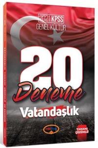 Yediiklim 2021 KPSS Vatandaşlık 20 Deneme Çözümlü Yediiklim Yayınları
