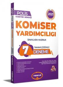 Yediiklim Yayınları 2021 Komiser Yardımcılığı Sınavlarına Hazırlık Tamamı Çözümlü 7 Deneme