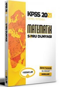 Yediiklim Yayınları 2021 Kpss Genel Yetenek Matematik Soru Dünyası
