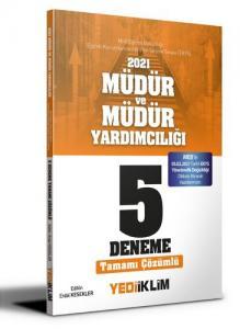 Yediiklim Yayınları 2021 MEB EKYS Müdür ve Müdür Yardımcılığı Tamamı Çözümlü 5 Deneme(05.02.2021 Tarihli MEB Yönetmenliği Değişi