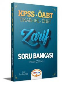 Yediiklim Yayınları 2021 ÖABT Din Kültürü ve Ahlak Bilgisi Öğretmenliği Zarif Tamamı Çözümlü Soru Bankası