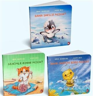 0-3 Yaş Resimli İnteraktif Çocuk Kitapları Set 2 (3 Kitap Takım)
