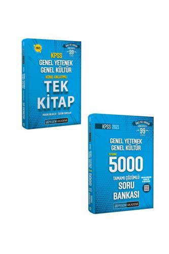 Pegem 2021 KPSS GYGK Konu Anlatımlı Tek Kitap + GYGK 5000 Soru Bankası 2 Li Set