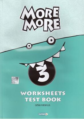 More&More English 3 Worksheets & Test Book
