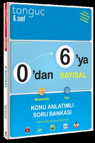 0'dan 6'ya Sayısal Konu Anlatımlı Soru Bankası   Tonguç Akademi