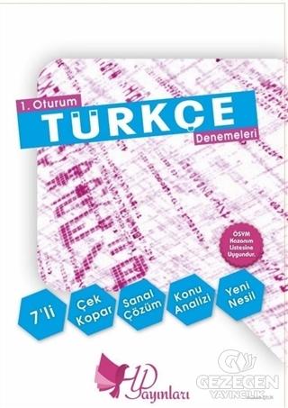 1. Oturum 7'li TYT Türkçe Denemeleri