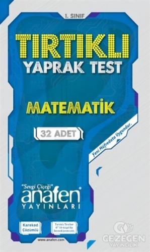 1. Sınıf Matematik Tırtıklı Yaprak Test