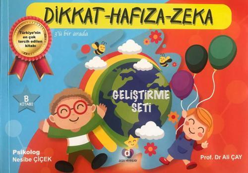 Dikkat Hafıza Zeka Becerileri Okul Öncesi İlk Okul 3 Lü Set Ders Yayın