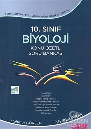 10. Sınıf Biyoloji Konu Özetli Soru Bankası