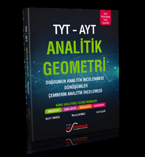 YKS TYT AYT Analitik Geometri Konu Anlatımlı Soru Bankası | Ekstremum Yayınları