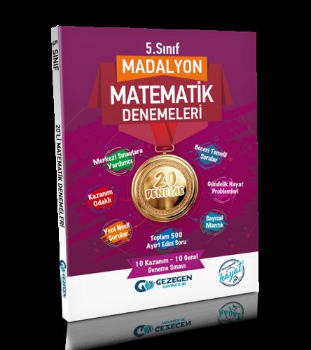5. Sınıf Madalyon Matematik-20 Deneme