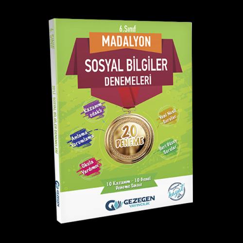 6. Sınıf Madalyon Sosyal Bilgiler-20 Deneme
