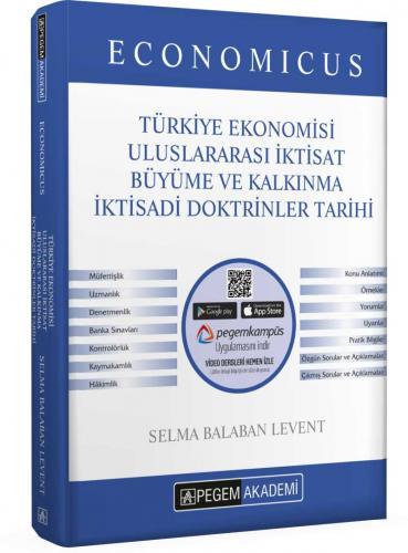 2021 KPSS A Grubu Economicus Türkiye Ekonomisi Uluslararası İktisat Büyüme ve Kalkınma İktisadi Doktrinler Tarihi Konu Anlatımı |Pegem Akademi Yayıncılık