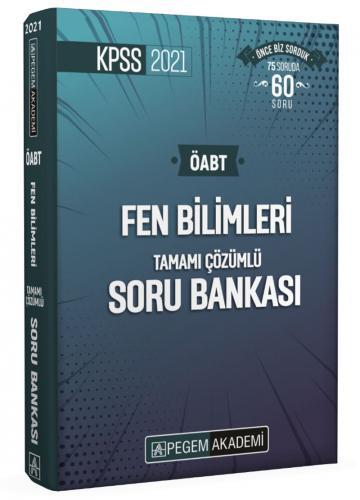2021 KPSS ÖABT Fen Bilimleri Fen ve Teknoloji Tamamı Çözümlü Soru Bankası Seti - 4 Kitap |Pegem Akademi Yayıncılık
