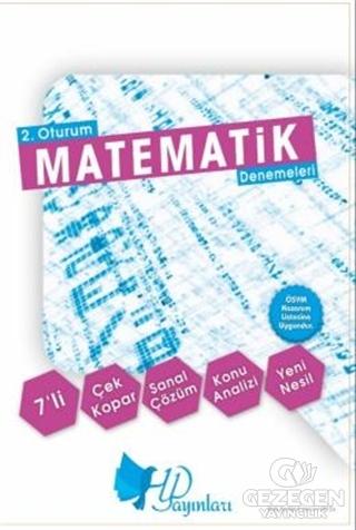 2. Oturum AYT 7'li Matematik Denemeleri