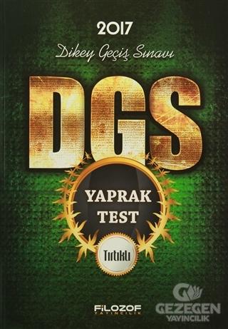 2017 DGS Tırtıklı Yaprak Test