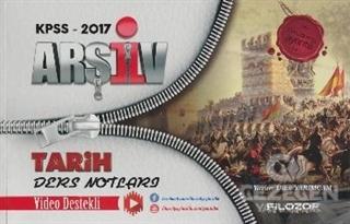 2017 KPSS Arşiv Tarih Ders Notları