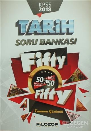 2018 KPSS Tarih Fifty Fifty Soru Bankası (Tamamı Çözümlü)