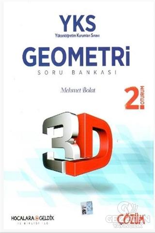 2018 YKS 2. Oturum 3D Geometri Soru Bankası