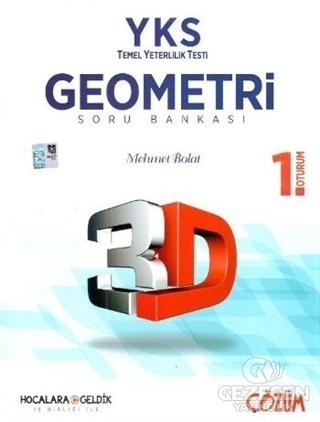 2018 YKS - TYT 1. Oturum 3D Geometri Soru Bankası