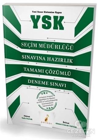2018 YSK Seçim Müdürlüğü Sınavına Hazırlık Tamamı Çözümlü Deneme Sınavı